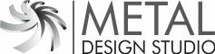 metal design studio logo