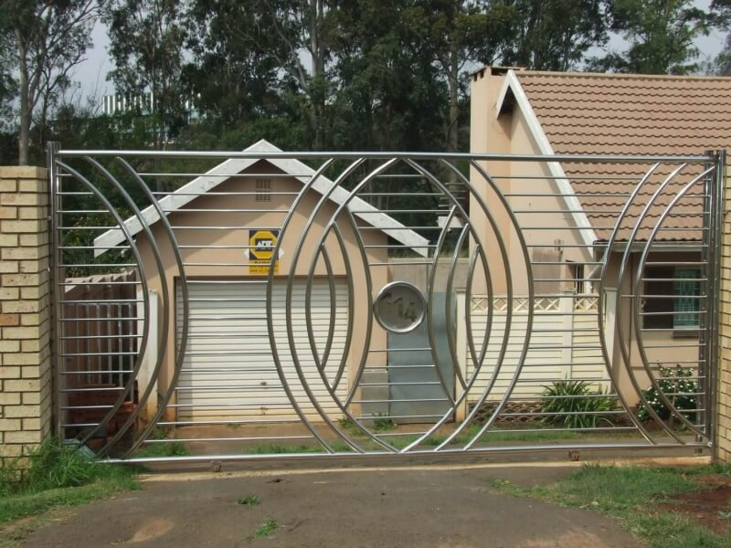 Home for Stainless steel driveway gates designs