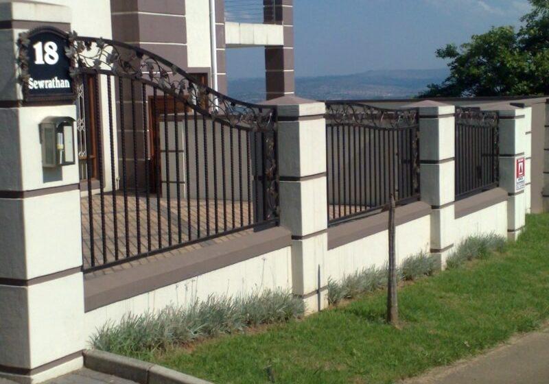 mild steel fence